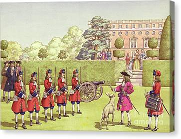 The Young Duke Of Gloucester Had His Own Army To Play With Canvas Print by Pat Nicolle