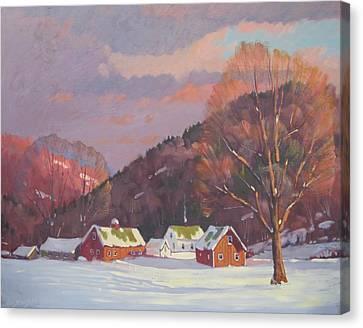 The Zieminski Farm Canvas Print by Len Stomski