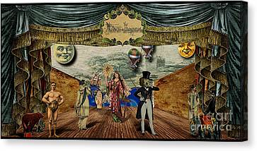 Theatrum Imaginarius -theatre Of The Imaginary Canvas Print by Cinema Photography