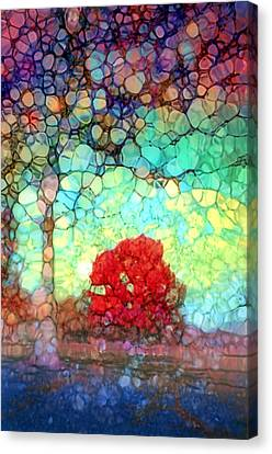 There Is Room For You In These Broken Arms Canvas Print by Tara Turner