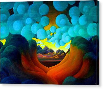There Was Magic In The Air Canvas Print by Richard Dennis