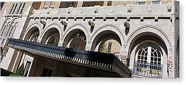 Eyes Upon You From Above The Entrance Canvas Print by Cora Wandel