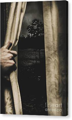 They Wait Outside Canvas Print by Jorgo Photography - Wall Art Gallery