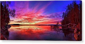Thin Ice 1 Canvas Print by ABeautifulSky Photography