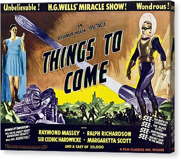 Things To Come, From Left On 1947 Canvas Print by Everett