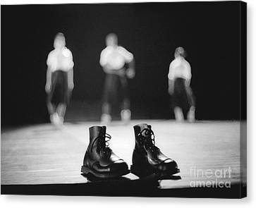 This Boots Are Made For Dancing Canvas Print by Philippe Taka