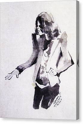 This Is - This Is It Canvas Print by Hitomi Osanai
