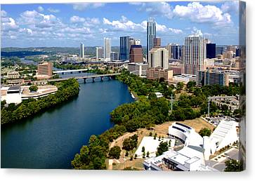 This Is Austin Canvas Print by James Granberry