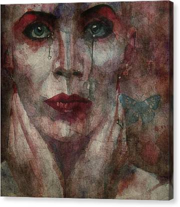 This Is Fear This Is Dread These Are The Contents Of My Head @2 Canvas Print by Paul Lovering