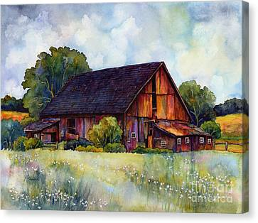 This Old Barn Canvas Print by Hailey E Herrera