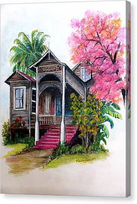 This Old House  Canvas Print by Karin  Dawn Kelshall- Best