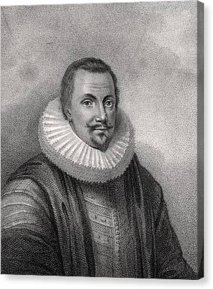 Thomas Coventry 1st Baron Coventry Of Canvas Print by Vintage Design Pics