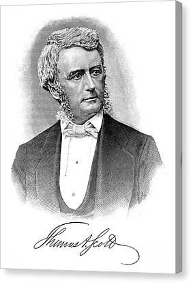 Thomas Scott (1823-1881) Canvas Print by Granger