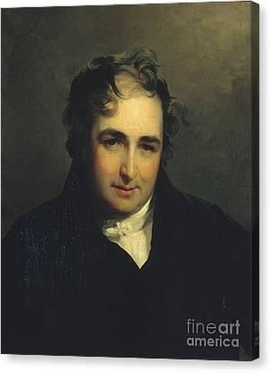 Thomas Sully Canvas Print by William Gwynn