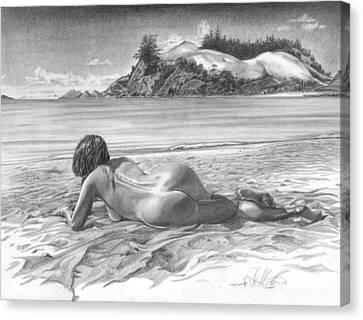 Thompson Point Canvas Print by Olivier Duhamel
