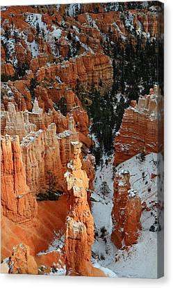 Thor's Hammer In The Sunlight Canvas Print by Pierre Leclerc Photography