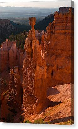 Thors  Hammer Morning Canvas Print by James Marvin Phelps
