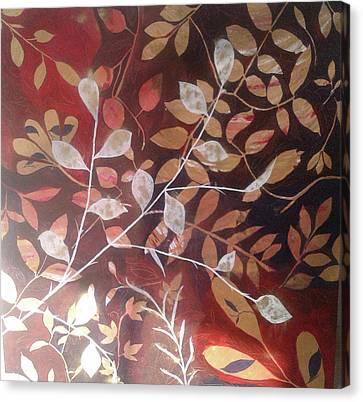 Thoughts Canvas Print by Maina Bhatnagar