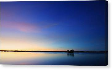 Thousand Island Park Sunrise Canvas Print by Lori Deiter