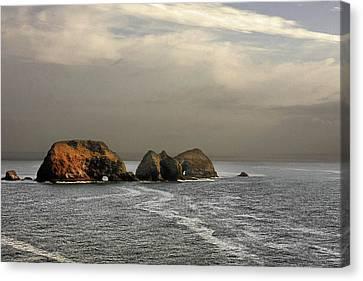 Three Arch Rocks - Oceanside Near Cape Meares - Oregon Canvas Print by Christine Till