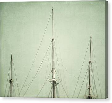 Three Masts Canvas Print by Lisa Russo