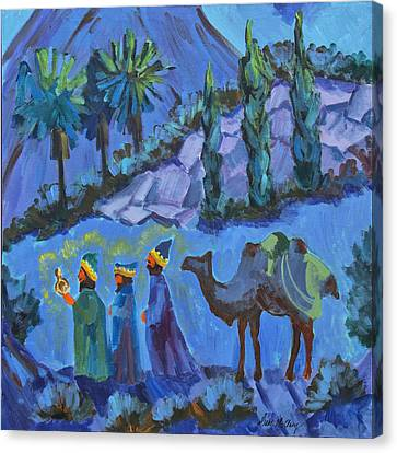 Three Wise Men Canvas Print by Diane McClary