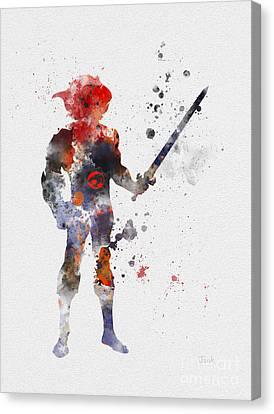 Thundercat Canvas Print by Rebecca Jenkins