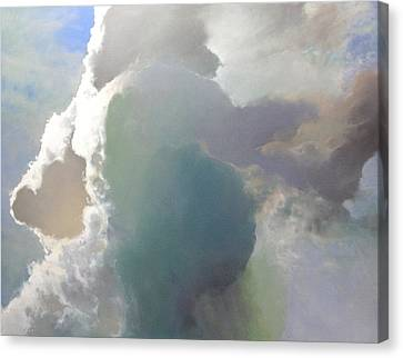 Thunderhead Canvas Print by Cap Pannell