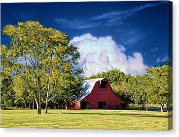 Thunderhead Canvas Print by Jan Amiss Photography