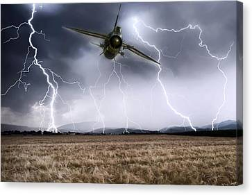 Thunderstruck 2 Canvas Print by Peter Chilelli