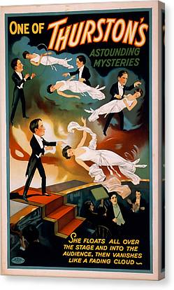 Thurston Astounding Mysteries Canvas Print by David Wagner