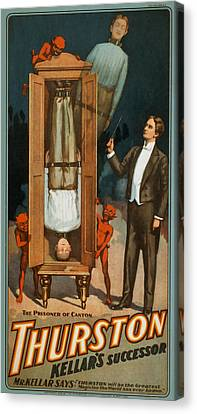 Thurston Prisoner Of Canton Canvas Print by David Wagner
