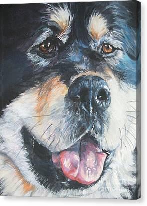 Tibetan Mastiff Canvas Print by Lee Ann Shepard