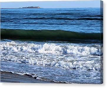 Tide Canvas Print by Janice Drew