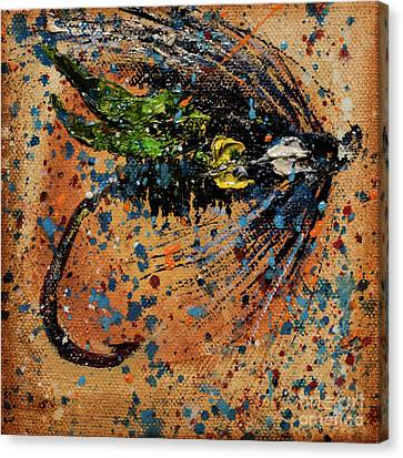 Tiger Fly Outfitters 2 Canvas Print by Jodi Monahan