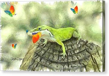 Tiguana - Da Canvas Print by Leonardo Digenio