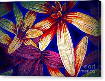 Tile Extravaganza Canvas Print by Kasia Bitner