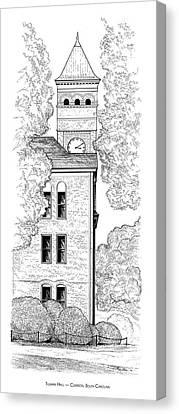 Tillman Hall Canvas Print by Greg Joens