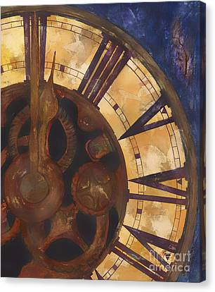 Time Askew Canvas Print by Barb Pearson