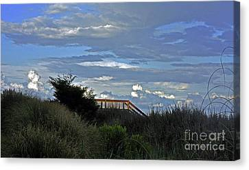 Time For A Walk On The Beach Canvas Print by Lydia Holly