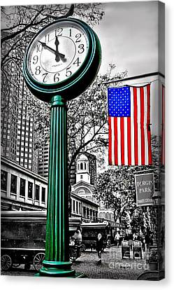 Time For Lunch Canvas Print by DJ Florek