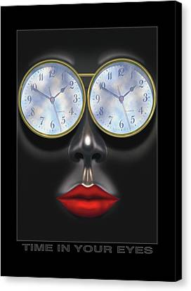Time In Your Eyes Canvas Print by Mike McGlothlen