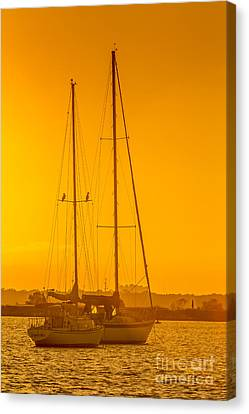 Time To Sail Canvas Print by Marvin Spates