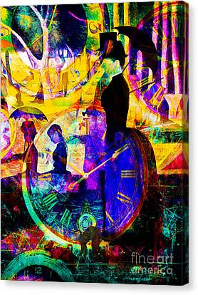 Timeless Art A Sunday On La Grande Jatte 20160229 Vertical Canvas Print by Wingsdomain Art and Photography