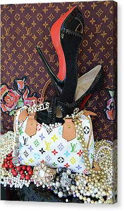 Timeless Beautiful Accessories 42 Canvas Print by To-Tam Gerwe