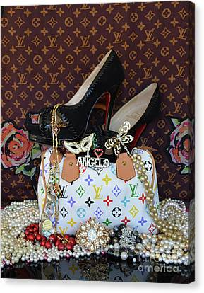Timeless Beautiful Accessories 45 Canvas Print by To-Tam Gerwe