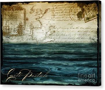 Timeless Voyage II Canvas Print by Mindy Sommers