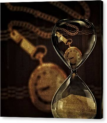 Timepieces Canvas Print by Susan Candelario
