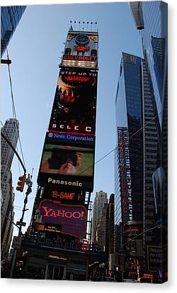 Times Square Canvas Print by Rob Hans