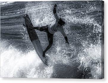Tip Of The Froth Canvas Print by Thomas Gartner